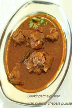 Cooking at Mayflower: Andhra Style Fish curry / Fish Pulusu / Andhra Che...