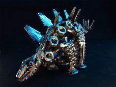 Metallifauna by Nikos Hitoglou /Metalmorphoses