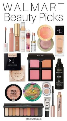 My top picks for makeup you can get from Walmart with NextDay Delivery! They& practically everything you need for a full face.