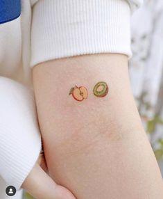 Tattoo mini 🥝🍎hoa quả Mini Tattoos, Black Tattoos, Couple Tattoos, Mandala Tattoo, Color Tattoo, Minis, Your Pet, Instagram, Mini Mini