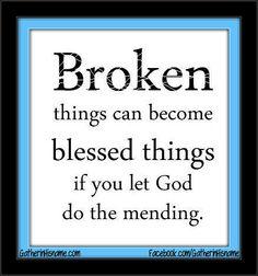 broken; christian quotes