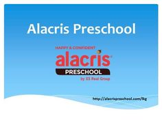 Alacris preschool will give your kids a head start in education and learning. It provides nursery, kindergarten, primary school etc. For more details visit Alacris preschool.Alacris LKG involves a lot of reading, talking, listening and conversing with fellow peers and teachers that improves their communication skills and more.  For details visit http://alacrispreschool.com/lkg.
