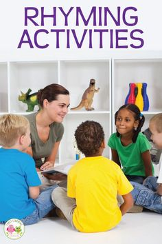 Repeated exposure to rhyming activities will help your kids build this important early literacy skill. Here are many activity ideas for teaching rhyme. Preschool Rules, Preschool Literacy, Literacy Skills, Early Literacy, Preschool Ideas, Phonemic Awareness Activities, Phonological Awareness, Rhyming Activities, Language Activities