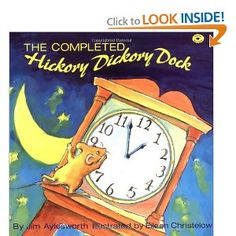 The Completed Hickory Dickory Dock (Aladdin Picture Books): Jim Aylesworth, Eileen Christelow: 9780689718625: Amazon.com: Books