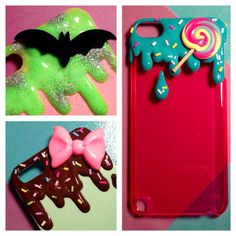 MADE TO ORDER Custom Kawaii Drip Decoden Case - Samsung Galaxy s3 & s4, iPhone 5 and 5S, iPod Touch on Etsy, 20,00$