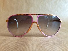 50b824e315de Alpina M1 Pink/Gold Vintage Sunglasses Made in West Germany NOS with Alpina  Hardcase