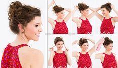 Kıvırcık Saçlar İçin Kolay Saç Modelleri   Esranin Portresi   Page 7