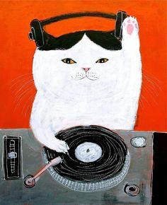 Scratch Cat DJ