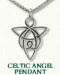 Celtic Angel Knot Pendant