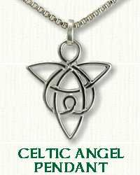 Celtic Angel Knot Pendant