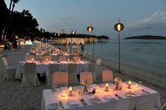 Thailand wedding reception