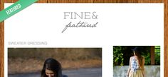 Featured Blog: Fine and Feathered