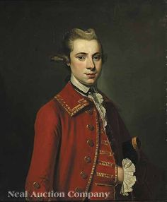 "Thomas Bardwell (English, ""Portrait of Mayor John G. Denniston"", oil on canvas, by Tilly kettle see christies. 18th Century Clothing, 18th Century Fashion, British Paints, Disco Fashion, Male Portraits, English Artists, Portrait Paintings, Male Face, Marie Antoinette"