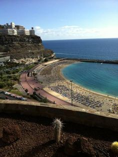 The view from my hotel room on the island of Tenerife at the age of 64. Still working!