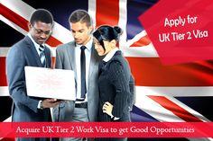 Apply for UK Tier 2 Work Visa for Good Career