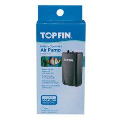 Top Fin® Battery Operated Aquarium Air Pump | Air Pumps & Air Stones | PetSmart