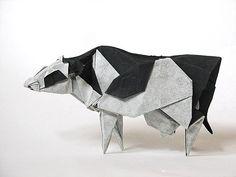 Holstein Cow by Roman Diaz