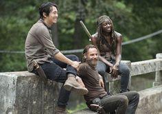 Les plus belles photos prises dans les coulisses de la saison 5 de The Walking Dead