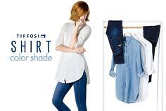 TIFFOSI | Woman Shirts  http://www.tiffosi.com/lookbo…/mulher/shirt-color-shade.html  #tiffosi #tiffosidenim #shirt #trend #collection #fall #winter #fw15 #fw2015 #woman #fwcollection