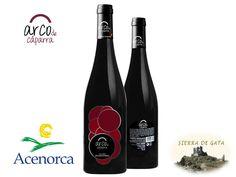 Red wine Arco de Cáparra, Sierra de Gata, Extremadura, Spain - Vino Tinto Arco de Cáparra de Sierra de Gata