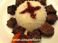 kabab torsh #iranian food
