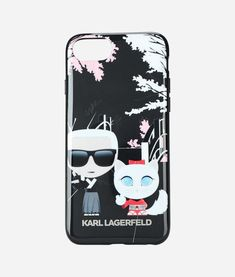 77506b9f9 Shop online Karl Lagerfeld Karl Choupette iPhone 8 case now with Same Day  Delivery in London.