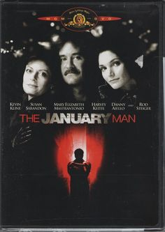 The January Man (DVD, 2002) New Sealed, Rated R, Widescreen Or Full,