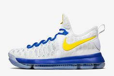 the latest 3e9e2 0e1fc Nike iD Adds Golden State Warriors Options for Zoom KD 9