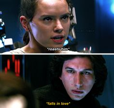 Reylo owns my ass. Star Wars Witze, Star Wars Jokes, Star Wars Kylo Ren, Star Wars Ships, Kylo Rey, Kylo Ren And Rey, Star Wars Brasil, Star War 3, The Force Is Strong