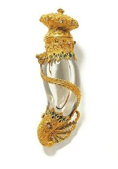 Tiffany & Co., Perfume bottle, ca. 1895 by Divonsir Borges