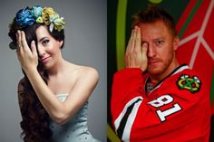 "Please help Marian Hossa of the Chicago Blackhawks raise money and awareness for ""Rainbow for Ivanka,"" a campaign started for Ivanka Danisova, who was born as a triplet in Bratislava, Slovakia, with Goldenhar syndrome, a rare congenital defect. Ivanka, 27, has cardiac arrhythmia and deformation o..."