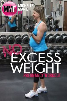 No Excess Weight Pregnancy #Workout. 5 #Pregnancy #Exercises in a circuit fashion to help prevent EXCESS WEIGHT GAIN.