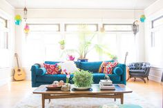 There's nothing like a new home (and a job you hate) to make you reevaluate your career. For Layne Jones Postilion, she had grown up watching both her mother and grandmother reupholster, paint, and refresh pieces and spaces to give them new life. So, it only made sense that as she fantasized about all of the possibilities of what her home could become — and taught herself to wallpaper, refinish furniture, and scour the Internet for free furniture pieces — her new career began take on a life…