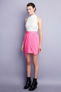 I love pink... this look is my fav from the Camilla and Marc Spring 2013 RTW collection (Worn by Emma Roberts • Worn by Taylor Spreitler)