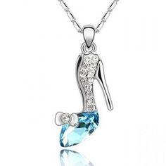 Cinderella Shoe Necklace