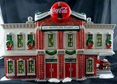 Dept 56 Snow Village Coca Cola Bottling Plant by AdvisorAntiques, $60.00