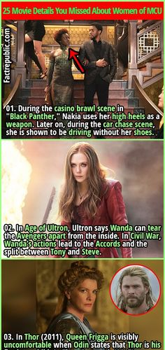 25 Movie Details You Missed About Women of Marvel Cinematic Universe - Fact Republic