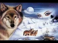 Wolf fantasy - Fantasy Wallpaper ID 1724820 - Desktop Nexus Abstract Native American Songs, Native American Wisdom, Native American Pictures, American Indians, Martin Luther, Wolves And Women, Mystery, Fantasy Wolf, Wolf Spirit Animal