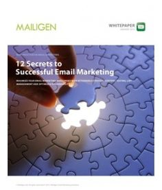 To help you get started with a fresh new email marketing start in 2012, we are bringing you our latest whitepaper. Successful email marketing requires more than writing a few paragraphs of copy and sending it out to your distribution list. Email campaigns can be complex, require careful strategic thought, planning and testing and the right follow up.