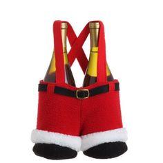 "Raz Imports Santa's Pants Wine Bottle Bag Purse by Raz Imports. $14.99. Size 11"" H. Polyester. Raz Imports Santa's Pants Wine Bottle Bag Purse"