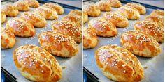 Mayasız Poğaça Tarifi Donut Recipes, Vegan Recipes, Donuts, Pretzel Bites, Tea Time, Muffin, Food And Drink, Bread, Breakfast