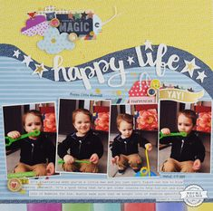 Hey there Stamp & Scrapbook Expo friends and fans, Becki here with another edition of Inspiration Station. If you remember, last week I share a video with you on the basics of using Thicker alignment guides. (You can find that post HERE). This week, I thought that it would be fun to create a layout …