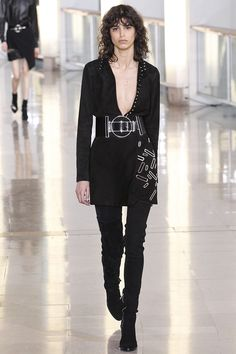 Anthony Vaccarello Fall 2015 RTW Runway – Vogue