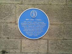 Joseph Priestley blue plaque in Leeds | Blue Plaque Places