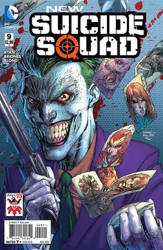 DC - New Suicide Squad #9 Jim Lee Joker 75th Anniversary Variant & Regular Cover