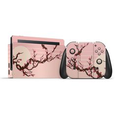 Made from high quality vinyl and laminate that's available in various finishes. Personalize and make your Switch Unique. Nintendo Switch System, Nintendo Switch Case, Hello Kitty Rooms, Nintendo Switch Animal Crossing, Nintendo Switch Accessories, Gaming Room Setup, Kawaii Room, Kawaii Accessories, Gamer Room