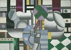 Fernand Leger  Woman and Still Life