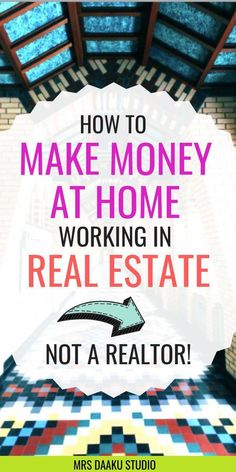 to be a real estate virtual assistant, work from home and make money online . - how to earn money -How to be a real estate virtual assistant, work from home and make money online . - how to earn money - Earn Money From Home, Earn Money Online, Online Jobs, Way To Make Money, Online Careers, Quick Money, Money Fast, Online Courses, Online Work From Home