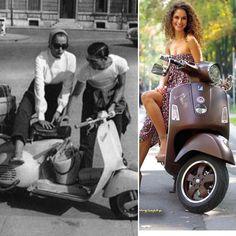 Vespa 1973 vs 2013  I    #Ferrari #Lamborghini #Mercedes #BMW #Nissan #Toyota #photo #insta #selfie #insta #cadillac #ford #gm #Chevrolet #wheels #supercar #Bugatti #like #love #aston #mitsubishi #Honda #badass #dream #cars #car #new #old #crank #Jaguar #muscle