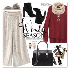 """""""Winter Season"""" by oshint ❤ liked on Polyvore featuring Dolce&Gabbana, Giorgio Armani, Jessica Carlyle, Kate Spade and Helmut Lang"""